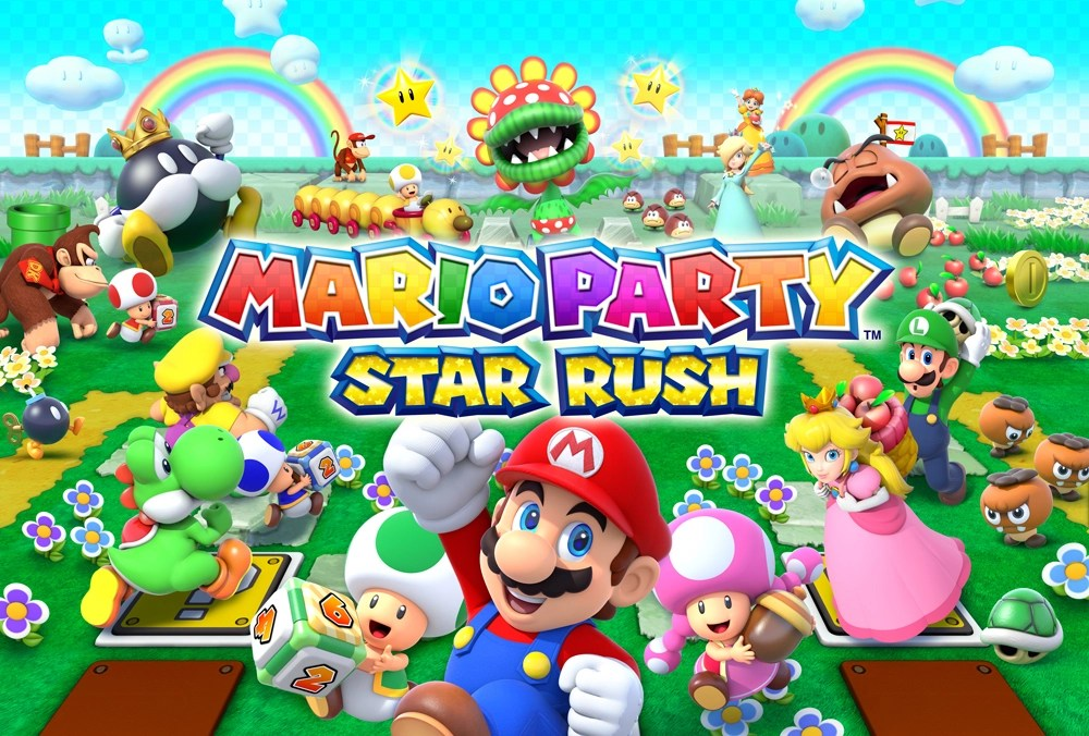 Mario Party Star Rush Title