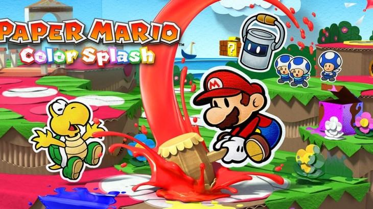 Title - Paper Mario: Color Splash