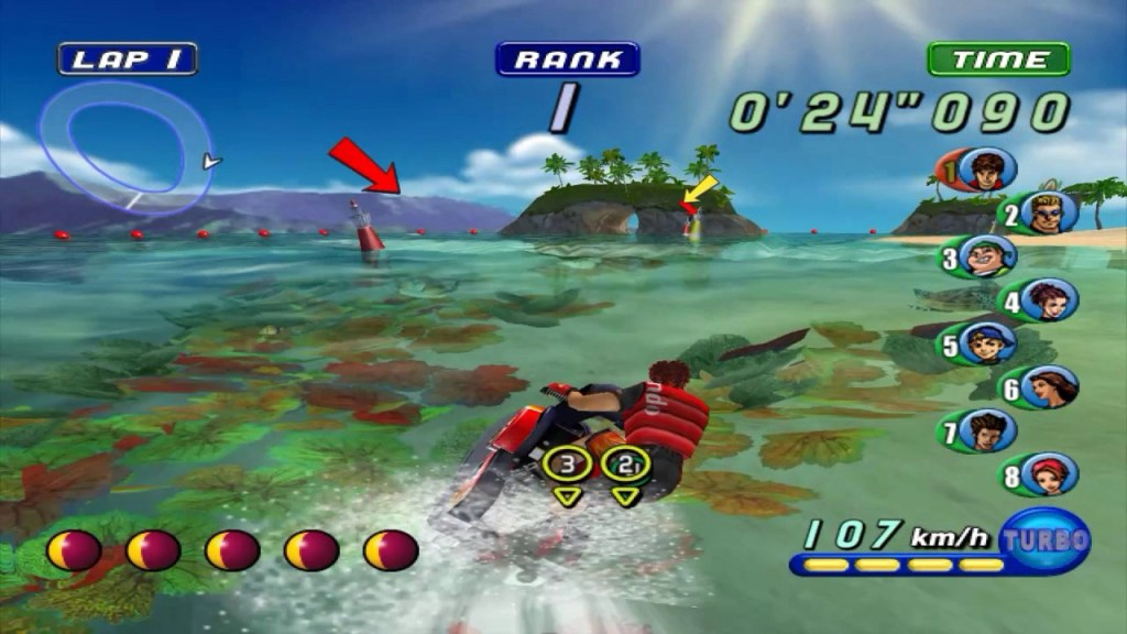 Wave Race Bluestorm Screenshot from the Nintendo Gamecube