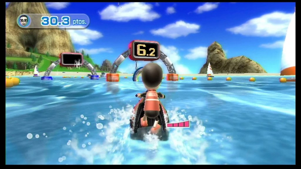 Power Cruising screenshot from Wii Sports Resort