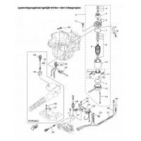 onderdelen voor de yamaha F6A en F8c buitenboordmotoren