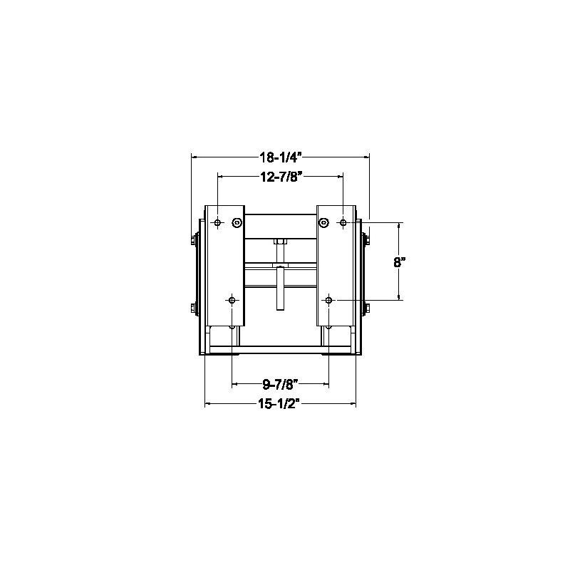 Seastar manual jackplate
