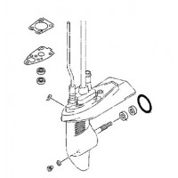 onderdelen voor de yamaha F4A 4 takt buitenboordmotor