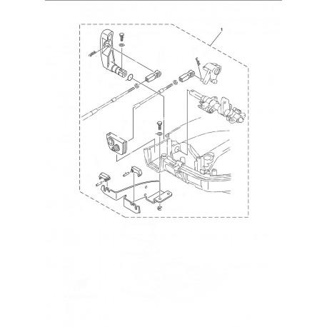 aanbouwkit yamaha 8 pk 4 takt 6DR-48501-00