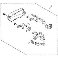 aanbouwkit Yamaha 6C & 8C ymm-21404-00-00