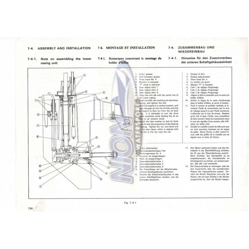 664-28197-80 service manual yamaha 28A 2 stroke