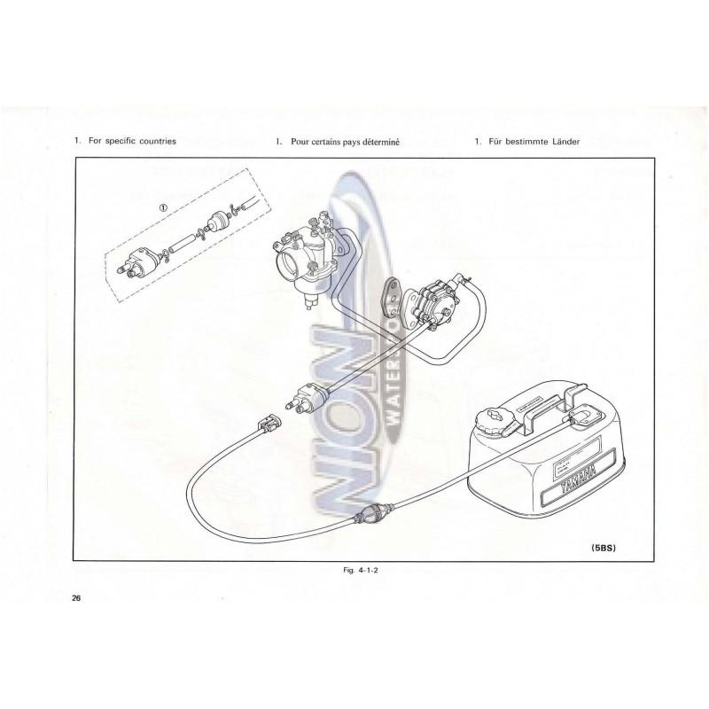 654-28197-80 Service manual Yamaha 5B & 5BS PDF download