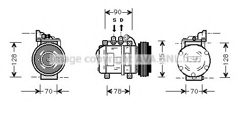 Whirlpool Compressor Diagram York Compressor Diagram
