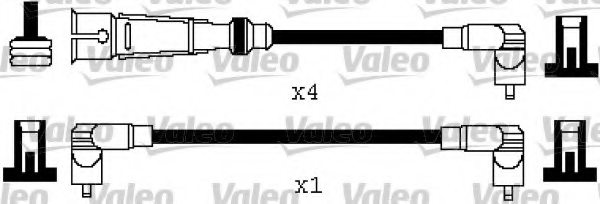 346569,VALEO 346569 Ignition Cable Kit for AUDI,SEAT,VW