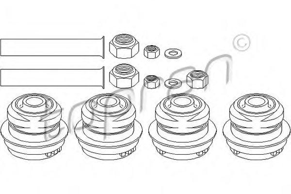 400330,TOPRAN 400 330 Suspension Kit for MERCEDES-BENZ