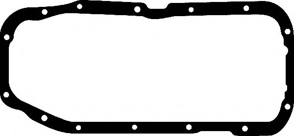652274,OPEL 652274 Gasket, wet sump for OPEL,VAUXHALL