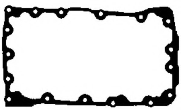 JH5012,PAYEN JH5012 Gasket, wet sump for LAND ROVER,MG,ROVER