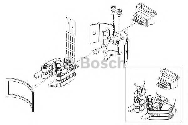 A0001580119,MERCEDES-BENZ A 000 158 01 19 Repair Kit