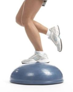 cose muscle, balance trainer and exerciser, half of a gym ball