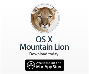 ox xmountain lion, app, iTunes, App Store, Mac App Store