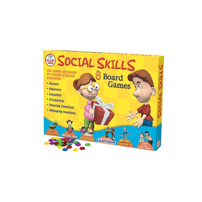 board game to teach children social and emotional skills