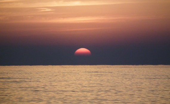 Sunrise at the sea image, family boat trip and other great family experiences