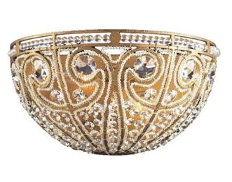 antique home decoration, gold detail bowl