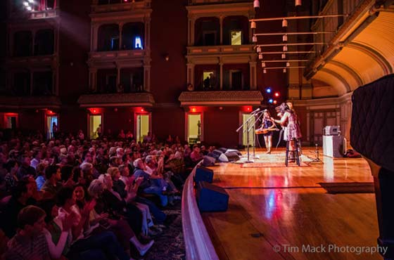 LIVE Red Molly  Troy Savings Bank Music Hall 51614