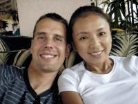 Johan & Chie at Waikiki Sand Villa