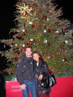 Christmas tree in Ebisu