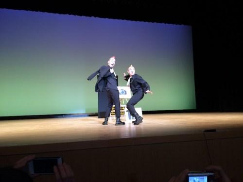 Gamarjobat on stage