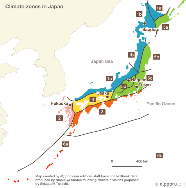The Japanese Climate | Nippon.com