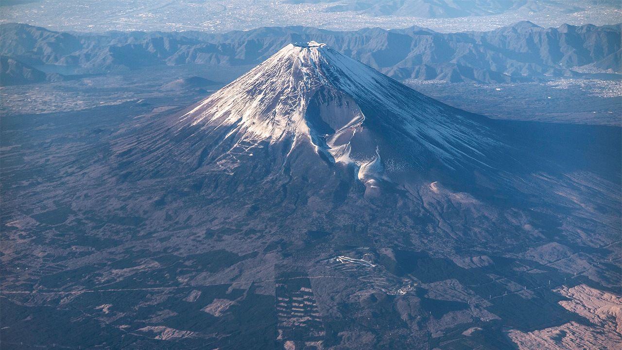 The shiraito falls (白糸の滝, shiraito no taki) are. Mount Fuji S History Of Eruptions Nippon Com