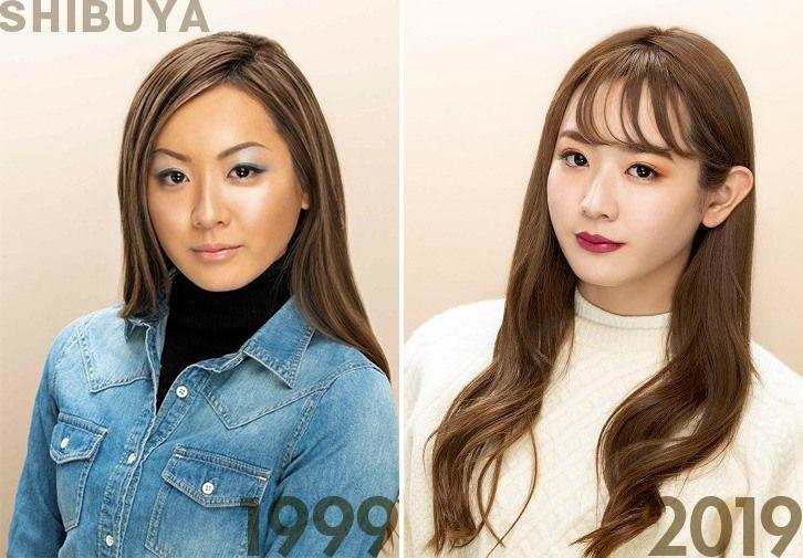 Photos avec la permission de Kanebo Cosmetics (même modèle pour les deux photos).