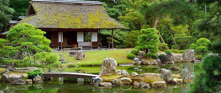 les jardins japonais un symbolisme de