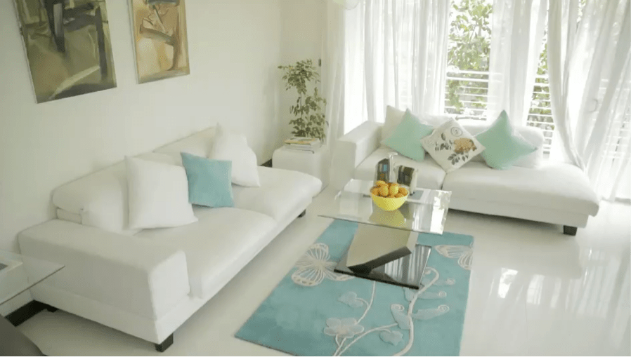 brilliant ideas for decorating your living room blue brown decor nippon paint malaysia home renovation decoration let s go through how to create artistic ambience in both spaces the design theme here is modern contemporary with all clean neutrals and single pops of