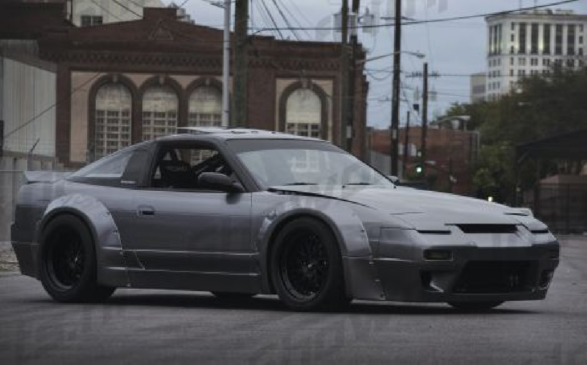 hight resolution of nissan s13 89 94 rocket bunny style wide bodykit 13p