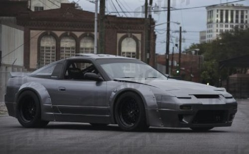 small resolution of nissan s13 89 94 rocket bunny style wide bodykit 13p