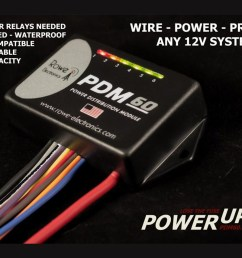 pdm60 power distribution module with programming cable [ 1140 x 854 Pixel ]