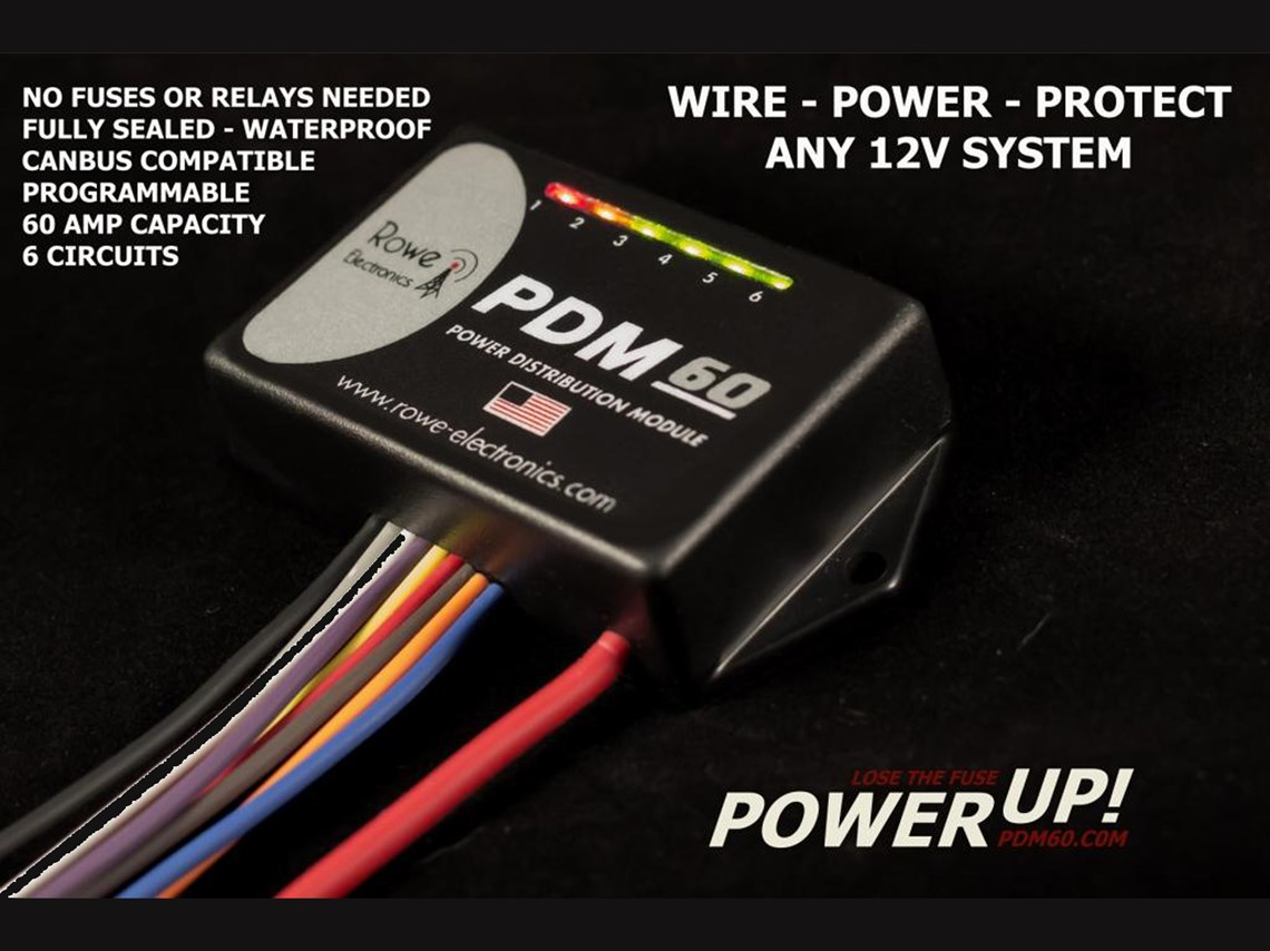 hight resolution of pdm60 power distribution module with programming cable