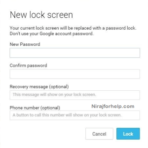 3 Way to Unlock your Android Phone without Factory Reset : Nirajforhelp.com