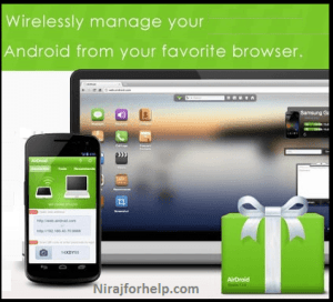 Top 5 App : Control PC / Laptop from Android Phone:Nirajforhelp.com