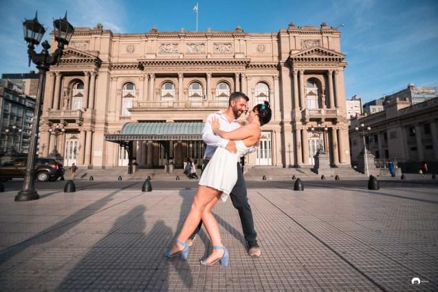 Pre boda en teatro Colon