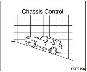 Nissan Rogue Owners Manual: Hill start assist system