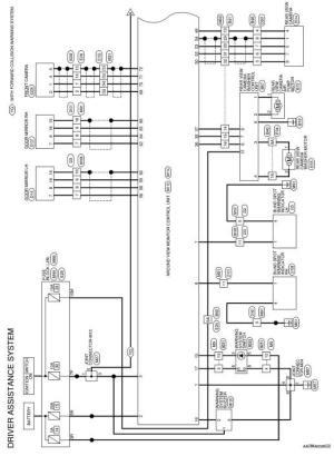 Nissan Rogue Service Manual: Wiring diagram  Driver