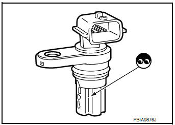 Nissan Rogue Service Manual: P0340 CMP sensor (phase