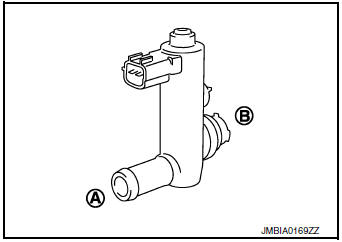 Nissan Rogue Service Manual: P0447 EVAP canister vent