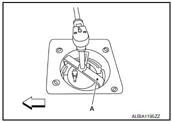 Nissan Rogue Service Manual: Fuel level sensor unit, fuel