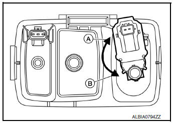 Nissan Rogue Service Manual: EVAP canister vent control