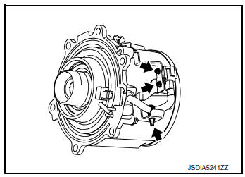 Nissan Rogue Service Manual: Unit disassembly and assembly