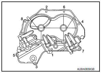 Nissan Rogue Service Manual: Valve timing control