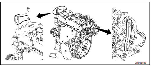 Nissan Rogue Service Manual: Unit removal and installation