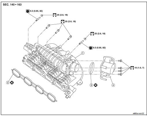Service manual [How To Remove Intake Manifold 2011 Nissan