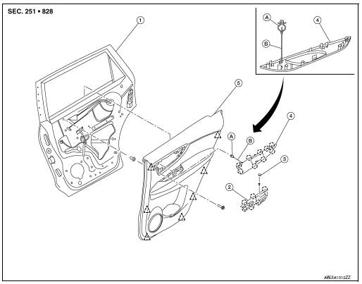 Service manual [Door Panel Removal 2004 Nissan Quest