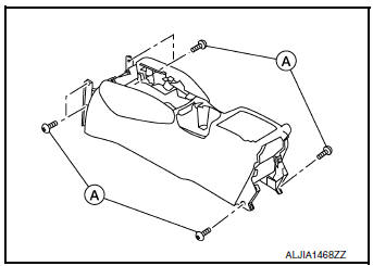 Nissan Rogue Service Manual: Center console assembly